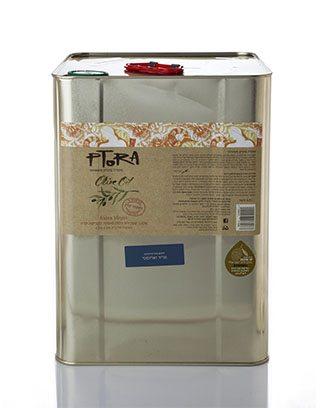 שמן זית מריר וארומטי - פח שמן זית כתית מעולה