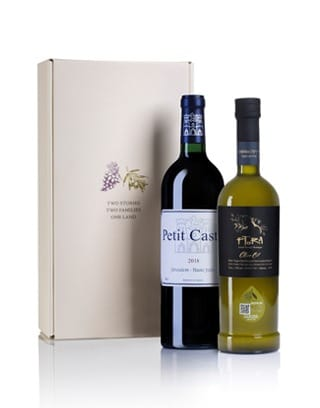 יין מיקב קסטל ושמן זית של פתורה