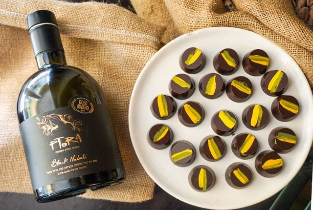 שמן זית איכותי ושוקולד