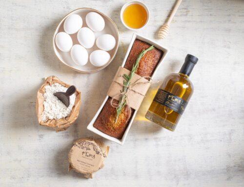 עוגת דבש ושמן זית לראש השנה