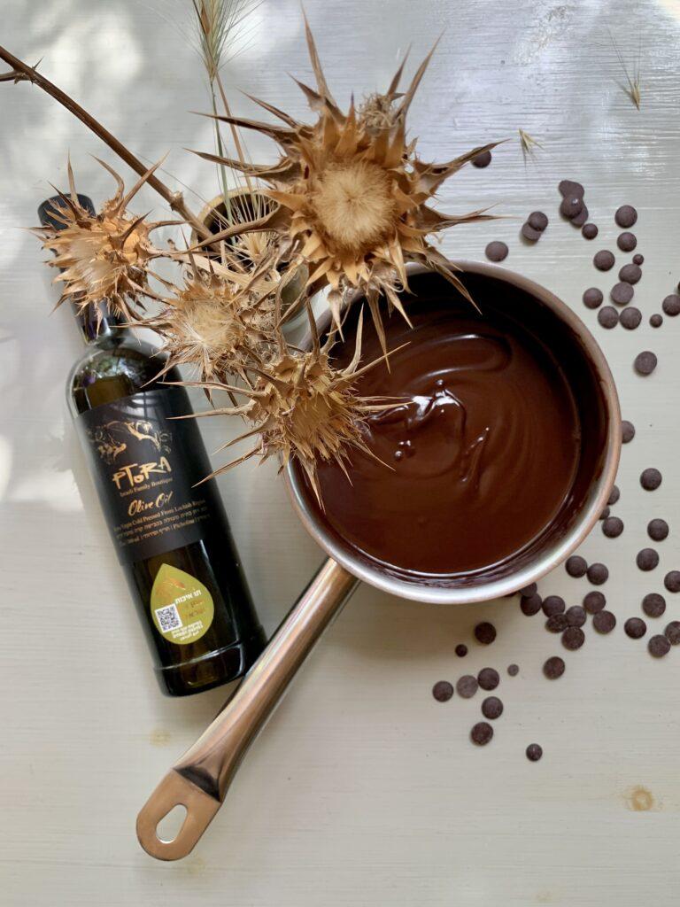 טארט שוקולד שמן זית